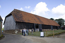 218px-Harmondsworth_Great_Barn_east_exterior