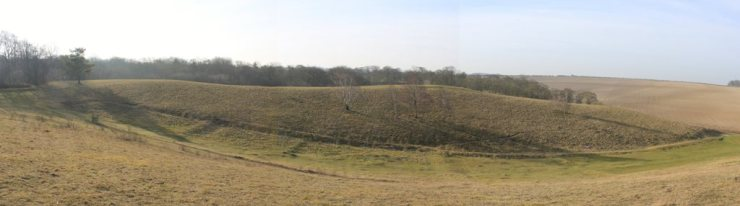 The Hopscotch & Church Hill - copyright Graham Palmer 2015