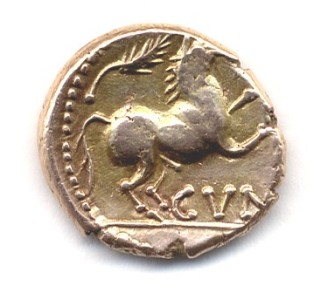 gold stater of cunobeline