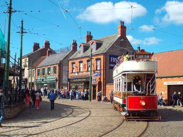 Tram at Beamish Museum